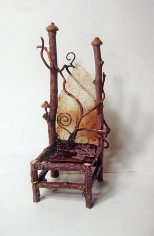 Her Fairy Twig Chairs Are Extremely Delicate, Intricate U2014 And Beautiful.  Photo By Brad Talbutt / Idaho Statesman