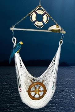 polyester marine hammock