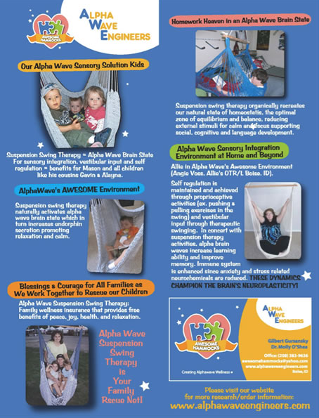 Autism Spectrum Research -brochure